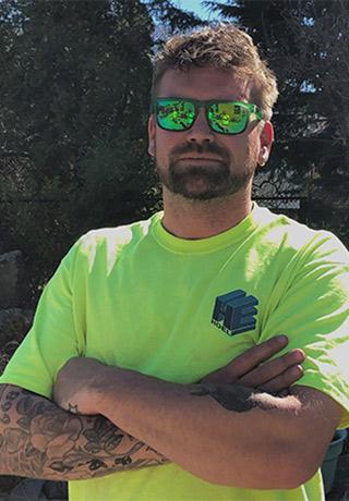 Portrait of Dayn J. Hoel, Technician